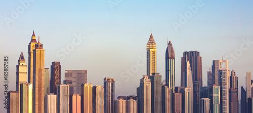 Fototapeta Dubai Skyline, UAE