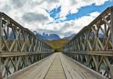 Stary most w obszarze górskim