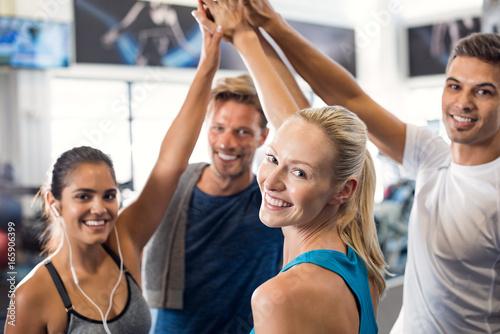 Successful fitness class