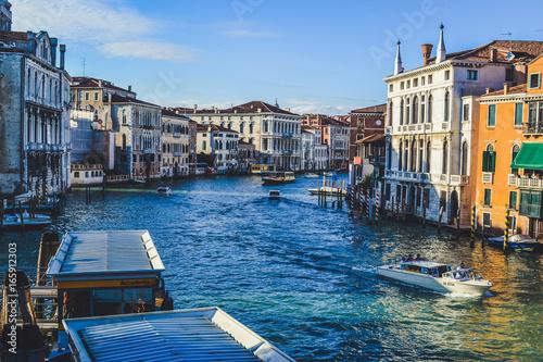 Spoed canvasdoek 2cm dik Venetie Beautiful Power of Venice