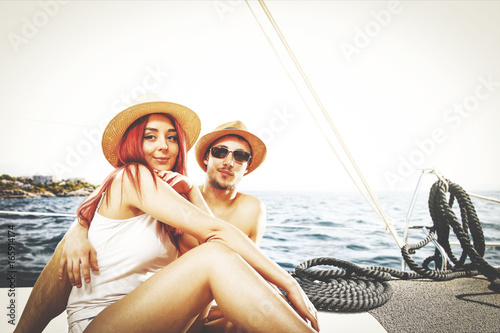 summer time on yacht