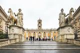 Capitoline Hill w Rzymie. Włochy