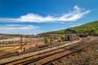 Quadro Rio Tinto kopalnia odkrywkowa w Hiszpanii