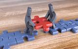 Knetfiguren Partner Puzzle Weg - 165927502