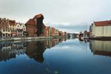Morning reflection of Gdansk