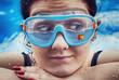 Fish swimming glasses