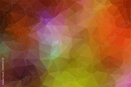 Fotobehang Geometrische Achtergrond Abstract geometric colorful background