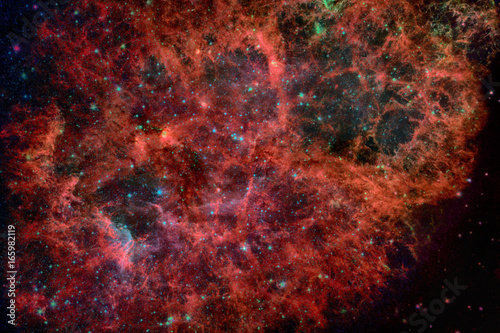 Deurstickers Heelal Nebula and galaxies in space. Elements of this image furnished by NASA.