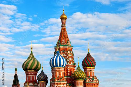 Katedra Świętego Bazylego na Placu Czerwonym w Moskwie
