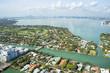 Aerial view of Miami, Florida, USA