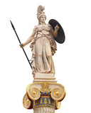 Athena statue, the ancient goddess of philosophy and wisdom - 165997560