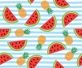Watermelon Seamless Backround
