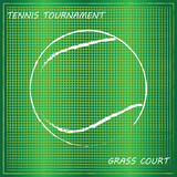 Tennis background, vector