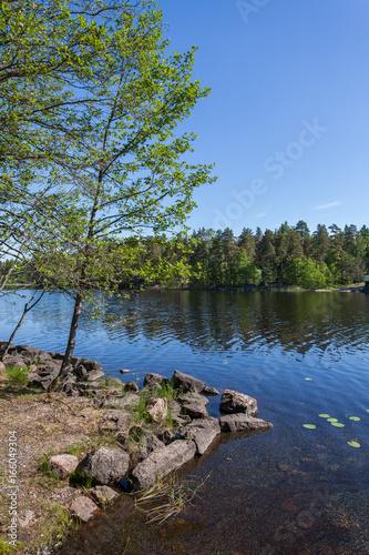 View of the Lake of Karelia