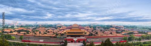 Foto op Aluminium Peking The Forbidden City under blue sky in Beijing,China.