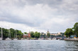 View over Södermalm district in Stockholm, Sweden - 166086186