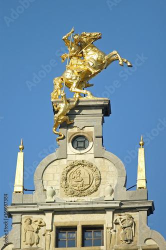 In de dag Antwerpen historische fassaden antwerpen belgien