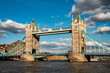 Tower Bridge in London, United Kingdom - 166090962
