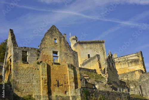 Ruines du château de Commarque, Périgord Poster