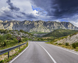 Road to the mountains.