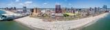 Aerial panorama Atlantic City NJ - 166150576