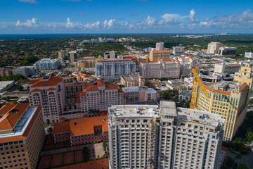 Highrise architecture Coral Gables Miami FL