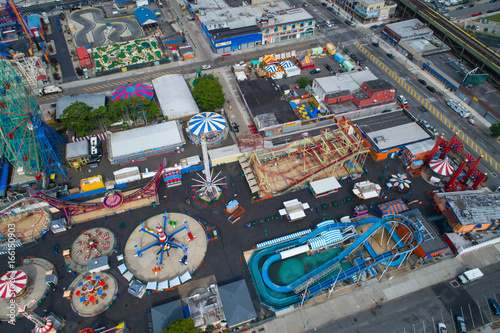 Coney Island fun park