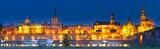 Night Dresden panorama, Germany