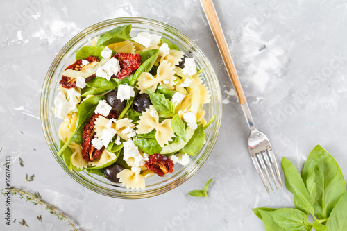 Homemade pasta salad - 166174183