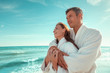Quadro Paar im Wellness Urlaub