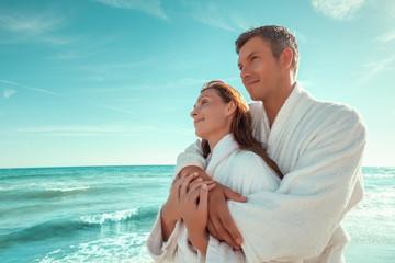 Paar im Wellness Urlaub