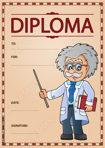 Diploma concept image 6