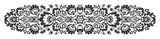 Polish folk flowers papercut decor - 166185124