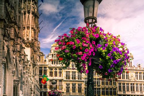 Blumen auf dem Grand Place