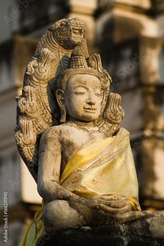 Buddha of Wat Mahatha, Thailand