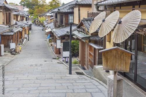 Foto op Canvas Kyoto Historical Sannen Zaka Street in Kyoto, Japa