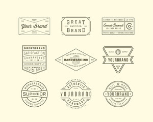 Vintage Logo, Insignia and Badges 3