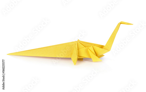 Origami dinosaur Poster