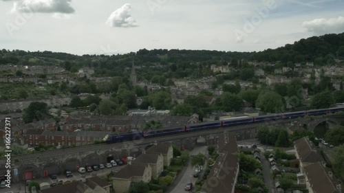 Aerial 25 of Bath, UK