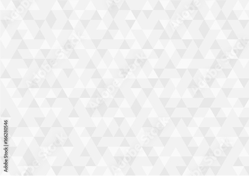 Abstract geometric shapes retro pattern background. Vector illustration - 166280546