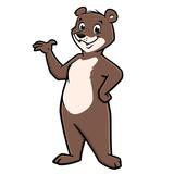 Cartoon Happy Bear