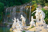 The royal palace and park of Caserta, heritage of UNESCO - 166295950