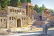 Quadro Ruined ancient Roman city of Pompei, engulfed by Vesuvius in AD