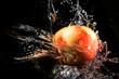 jabłko w wodzie - 166340738