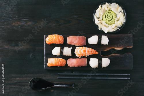 Set of sushi