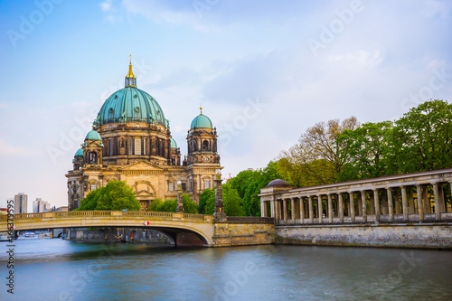 Berlin Cathedral and Spree view