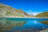 Górskie jezioro, Dolina Ubayette, Francja
