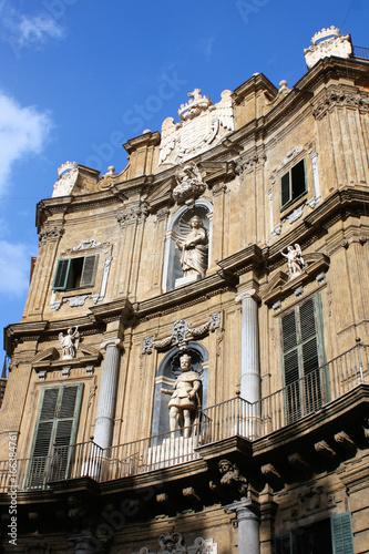 Foto op Canvas Palermo Quattro Canti di Citta
