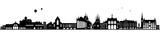 Erfurt Skyline schwarz - 166391372
