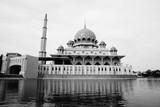 Putra Mosque is the principal mosque of Putrajaya